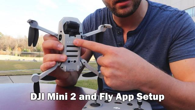 Getting Started with the DJI Mini 2 - Drone Setup and DJI Fly App (Pt. 1 of 2)