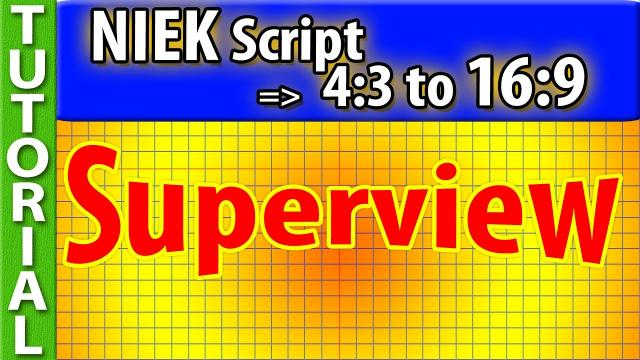 Tutorial: SUPERVIEW with NIEK Script - the SUPER EASY way