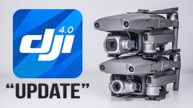 "DJI Go Update v4.3.2 - Mavic 2 Hyperlapse ""Improvements"""