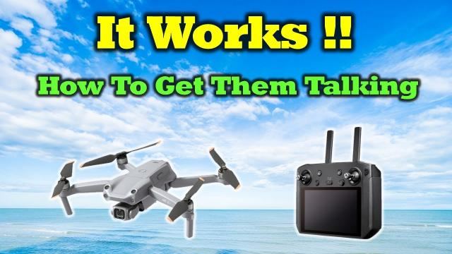 It Works! - Using Your Smart Controller With The Air 2S