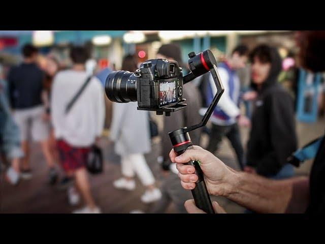 Testing Snoppa Kylin-M GIMBAL with the GH5