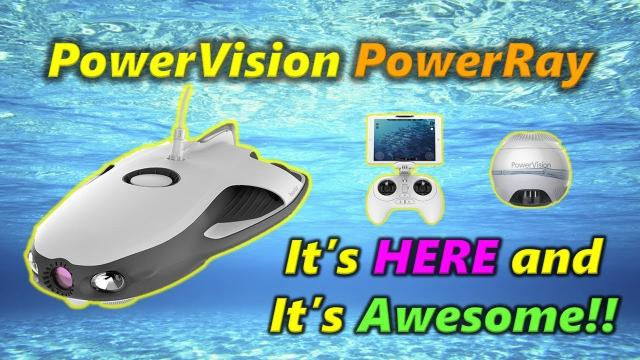 A Drone That Swims! - PowerVision PowerRay - Unboxing and Overview