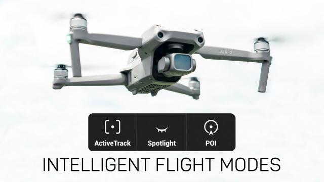 DJI Air 2S Intelligent Flight Modes (ActiveTrack, Spotlight, & Point of Interest)