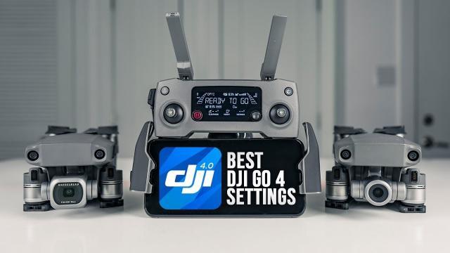The Best DJI Mavic 2 Zoom Camera & Gimbal Settings | Walkthrough