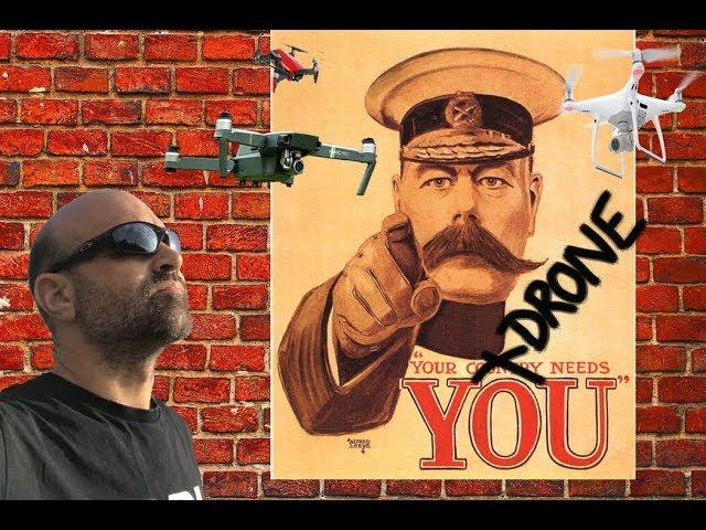 ALL UK drone flyers MUST act NOW! Your Drone needs YOU