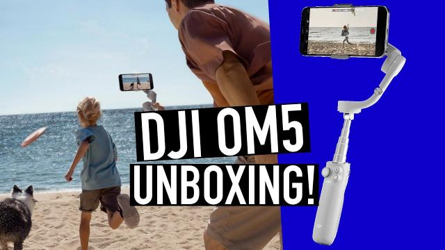 DJI OM5 Unboxing! The Ultimate Gimbal for Your Phone!