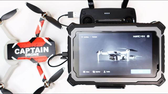 Best 7 inch Tablet for Drones - This could be the one - TRIPLTEK Sunlight Readable Tablet