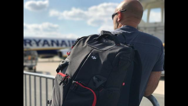 Manfrotto Drone Backpack review for DJI Phantom 4 & friends.