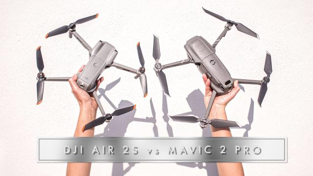 DJI Air 2S vs Mavic 2 Pro // Comparison