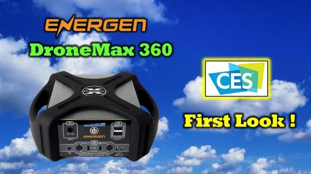 Exclusive ! DroneMax 360 From Energen - Charge Everything!