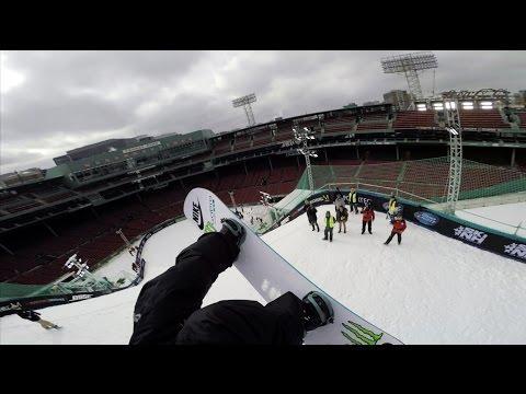 GoPro: USSA Big Air Snowboard At Fenway Park