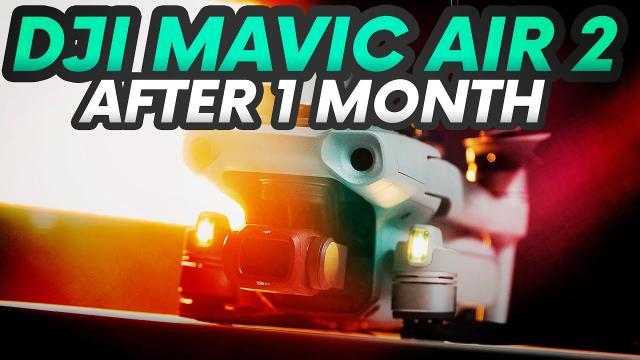 DJI MAVIR AIR 2 AFTER 1 MONTH BRUTALLY HONEST