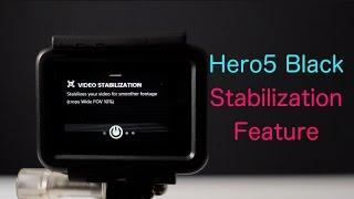 Hero5 How To: Enable Stabilization Feature - GoPro Tip #581
