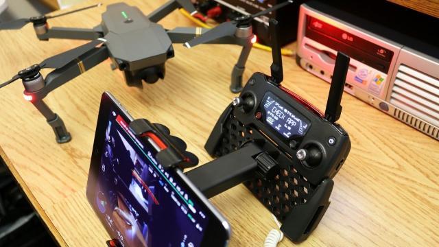 DJI Mavic Pro SKYREAT Adjustable Tablet Mount Holder