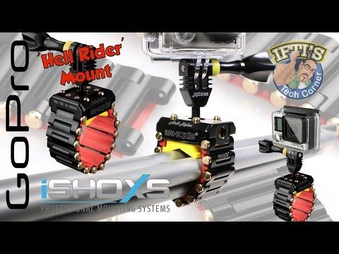 ISHOXS Hell Rider - The Ultimate GoPro Pole/Bar Mount With Tank Chain System! REVIEW