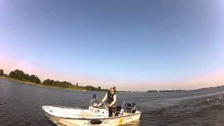 GoPro HD - POLICE BOAT (BOSTON WHALER) CHASE AND OUTRUN