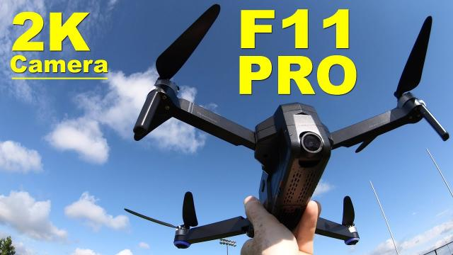The very popular SJRC F11 PRO - Low Cost, Long Flight Time & Nice Camera