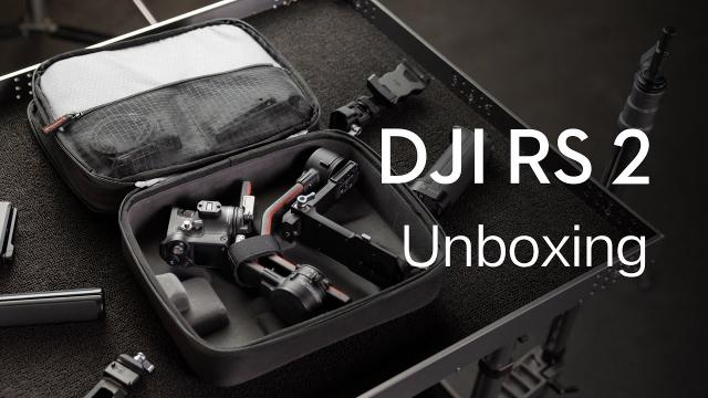 DJI RS 2 | Unboxing