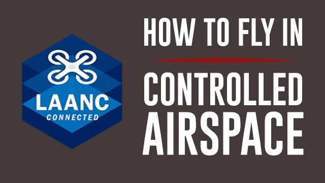 How to use LAANC - KEN HERON (Fly near Airports Legally)
