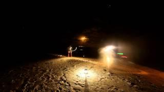 Gopro Light Painting Using Timelapse Hastings Point, Australia