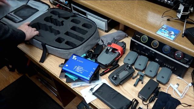 DJI Mavic Pro Hard Shell Backpack Case
