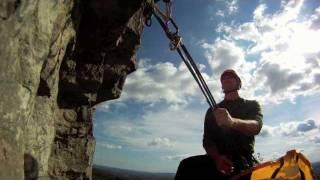 Gunks Rock Climbing GoPro