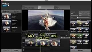 GoPro Studio 2.0 - How To Make 1440 Into 1080p SuperView! GoPro Tip #353