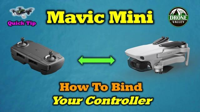 How Pair Your Mavic Mini Drone and Controller