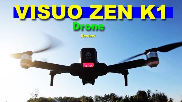 The 2K/4K VISUO ZEN K1 Drone - 30 Minute Flight Time - Review