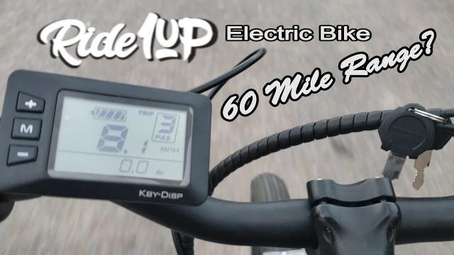 Ride1Up Electric Mountain Bike.... 60 MILE RANGE??? Part 1