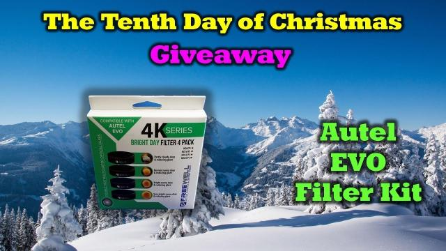 Free Autel EVO Freewell Filters -  Day 10 in Our 12 Days of Drone Valley Christmas Giveaways