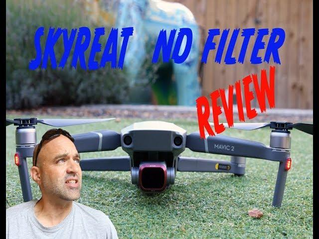 DJI Mavic 2 PRO Drone Skyreat ND Filter Review & How to use them.