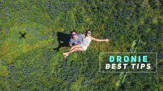 DJI: DRONIE (selfie photo) - BEST TIPS!