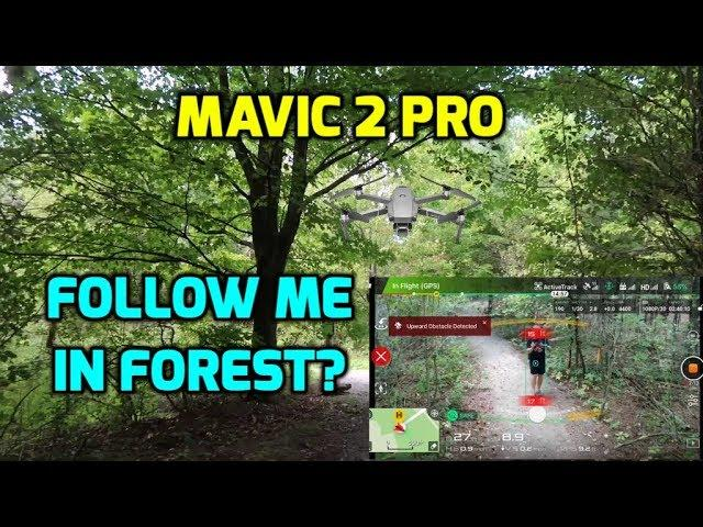 Mavic 2 Pro crashes trying to object track me through a forest.  Learning Lesson. Ep149