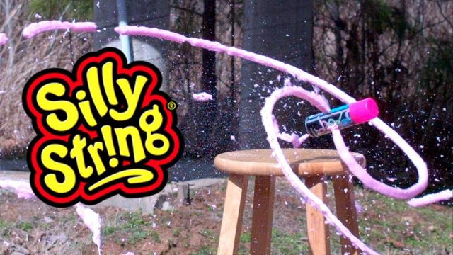 You've never seen Silly String do THIS - KEN HERON