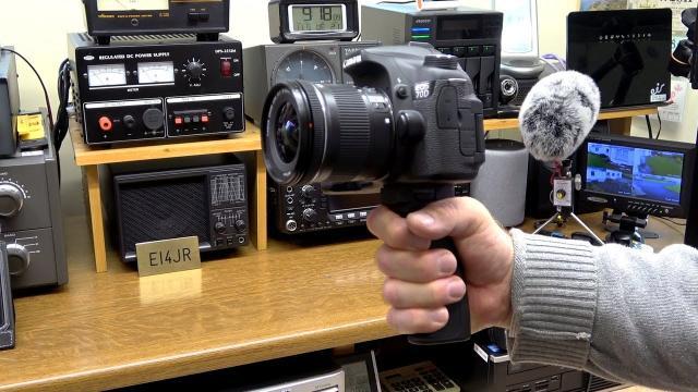 Camera Pistol Hand Grip by Fantaseal