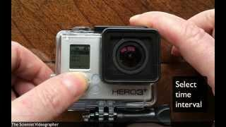 Time Lapse Tutorial with GoPro Hero3+