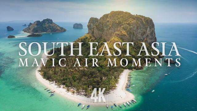 Mavic Air Scenes from SE ASIA (4K)