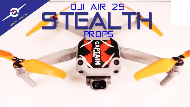 Stealth Props for the DJI Air 2S - New from Master Airscrew