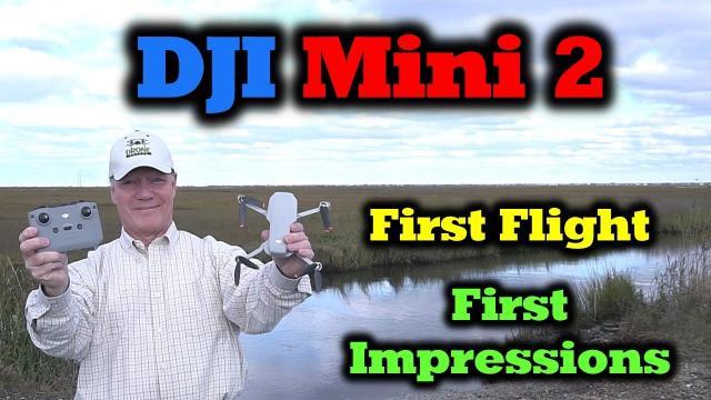 DJI Mini 2 - First Flight | 4K Footage | First Impressions