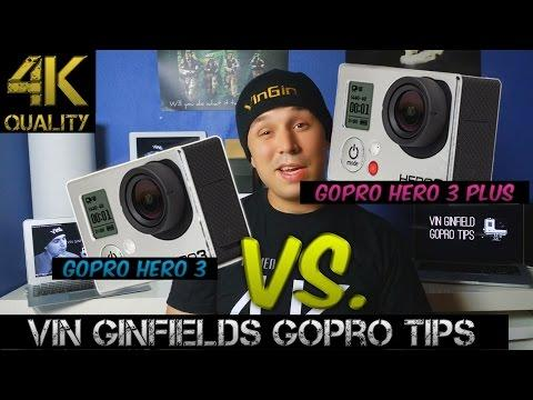 GoPro Tip #119 GoPro Hero 3 VS. GoPro Hero 3+ (4K)