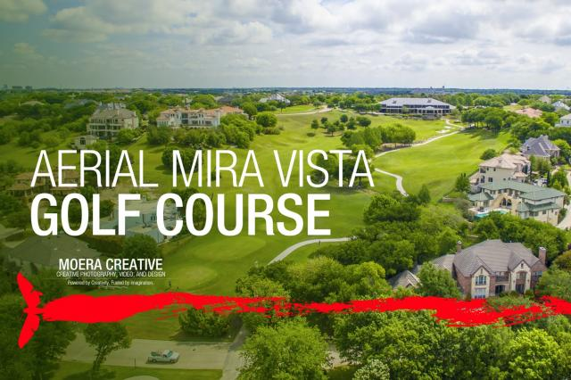 DJI Inspire 1 - Aerial of Mira Vista Golf Course