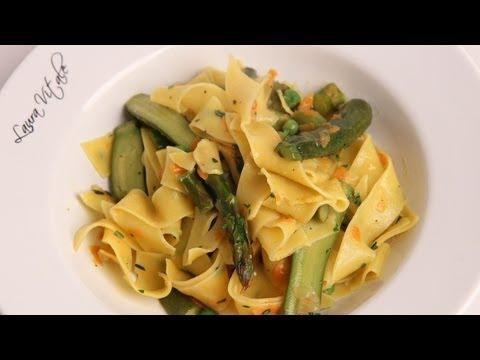Pasta Primavera Recipe -Laura Vitale - Laura In The Kitchen Episode 369