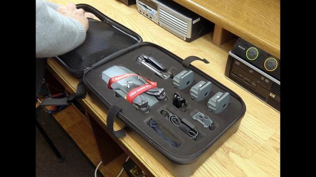 DJI Mavic Pro Backpack Hard Shell Case