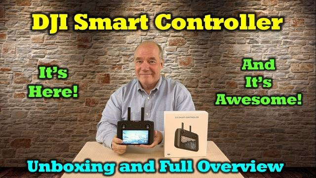 DJI Smart Controller First Look & Hands-on - Unboxing, Overview and Feature Review