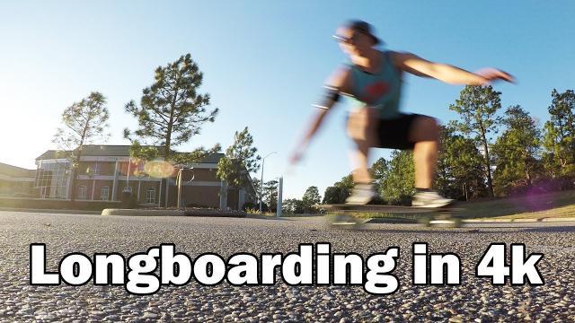 Longboarding on Campus - GoPro Hero5 Black