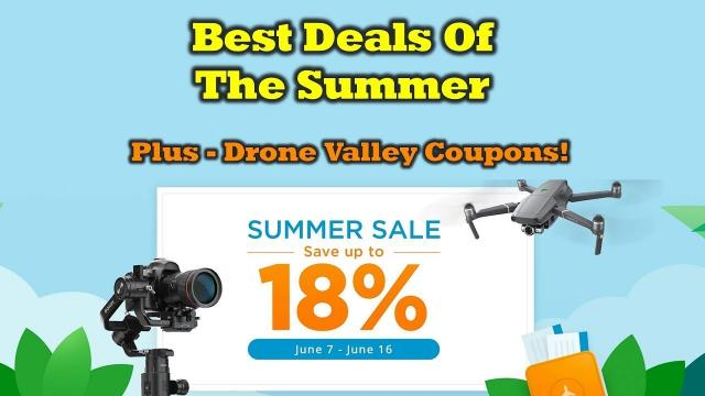 DJI Drones & Gear - Big Savings Plus 15 Coupon Giveaways!