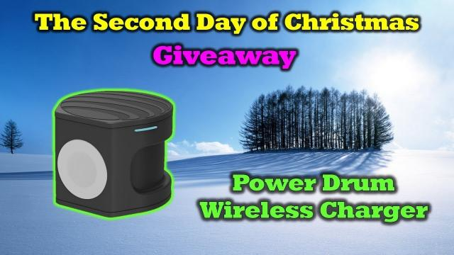 Free AT&T Power Drum Charger - 12 Days of Drone Valley Christmas Giveaways 2019