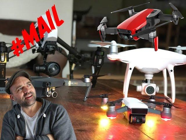 What drones do I use for Commercial Work? //#MAIL 49