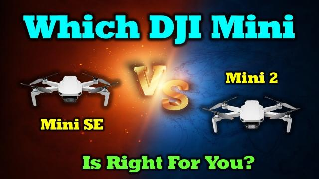 Which DJI Mini Drone is Right For You? Side-By-Side Comparison